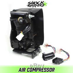 2002-2013 Cadillac Escalade EXT Full Air Ride Suspension Compressor Pump & Dryer