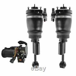 3 Piece Air Suspension Kit Front Air Shock Assemblies with Compressor for Ford New