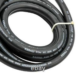 AC Air Conditioning Hose Kit O-Ring Fittings Drier Extended Length A/C Hose Kit
