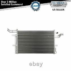 A/C Air Conditioning Condenser & Receiver Dryer Assembly for Ford Lincoln