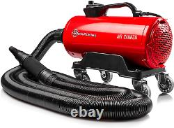 Adam'S Air Cannon Car Dryer High Powered Filtered Car Wash Blower Dry Before