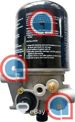 Air Dryer System Saver SS1200P Wabco Meritor Type, Ref R955300 H-30007