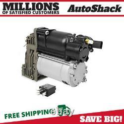 Air Ride Suspension Compressor Pump New for 2007-2012 BMW X5 2009-2014 X6 3.0L