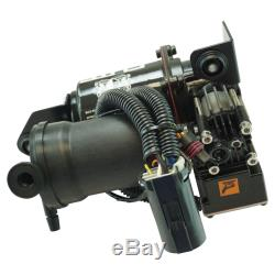 Air Ride Suspension Compressor with Dryer for Escalade Suburban Tahoe Yukon New
