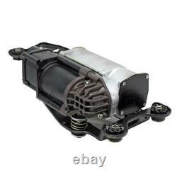 Air Suspension Compressor Pump+Solenoid Valve Block For BMW X5 F15 F85 X6 F16