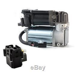 Air Suspension Compressor Pump + Valve Block For BMW X5 (F15/F85) 2014-2018