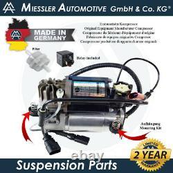 Audi A8 Quattro 2002-2010 V8 GAS Air Suspension Compressor & Filter 4E0616005D