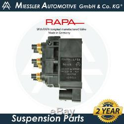 Audi Q7 (4L) 2007-15 NEW Air Suspension Compressor, Solenoid & Relay 4L0698007C