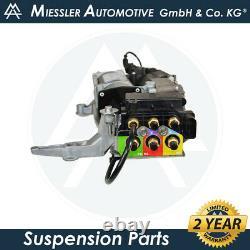 Audi Q7 (4L) 2007-2015 NEW OEM Air Suspension Compressor & Solenoid 4L0698007C
