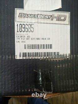 BENDIX AIR BRAKE DRYER AD9 12 VOLT soft seat purge valve109685 new in box