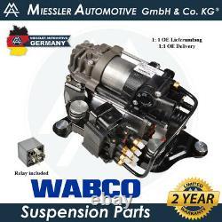 BMW 7-Series G11/12 2016 WABCO Air Suspension Compressor, Solenoid 37206861882