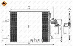 Der Kondensator, Die Klimaanlage Für Volvo S80 II 124 B 4204 T11 B 4204 T15 Xc60