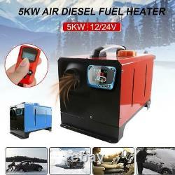 Diesel Parking Heater 5KW 12V Interior Air Heater Warm Dryer Glass Window Heater