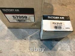 Factory Air Ac Compressor 57059/ Dryer Without Clutch- Fits Dodge/over 600 Cars
