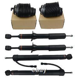 Front & Rear Air Shock Struts Springs Kit For Lexus GX470 2003-2009 4.7L V8
