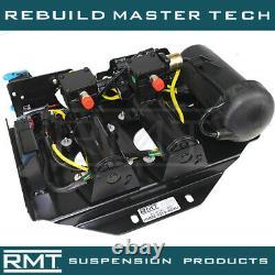 HUMMER H2 2008-2009 OEM DUNLOP Air Suspension Compressor, Valve Block & Dryer