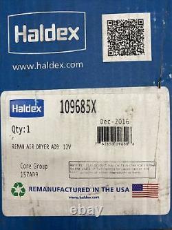 Haldex 109685X Reman AD9 Air Dryer 12V Rebuilt