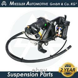Jaguar XJ-Series X351 MIESSLER Air Suspension Compressor & Valve Block C2D5825