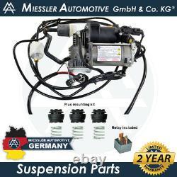 LR Range Rover MK IV L405 NEW Air Suspension Compressor, Hoses & Filter LR069691