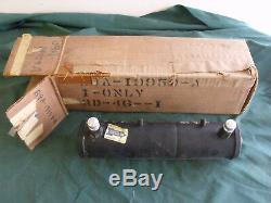 NOS 1959 Ford Air Conditioning Dryer Tank OEM AC 59