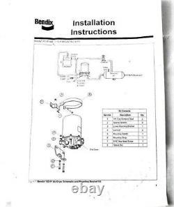 New 065225 Bendix AD-9 Air Dryer