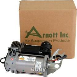 P-2496 Arnott Air Suspension Compressor New for VW Volkswagen Touareg Cayenne Q7