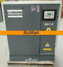 Parts Atlas Copco GA7 FF 10HP 150PSI Rotary Screw Air Compressor With Air Dryer
