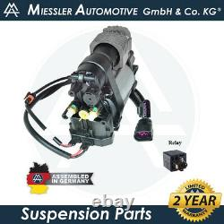 Porsche Panamera (970) 2010-16 NEW Air Suspension Compressor & Relay 97035815111