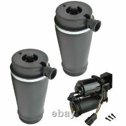 Rear Suspension Air Bags & Compressor Dryer Kit for Expedition Navigator 2WD NEW