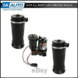 Rear Suspension Air Bags & Compressor Dryer Kit for Expedition Navigator 4WD NEW