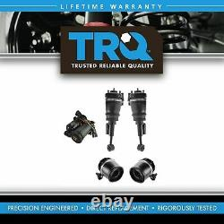 TRQ 5 Piece Air Suspension Kit Front Shock Assemblies with Rear Springs for Ford