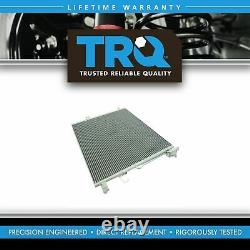 TRQ AC Condenser A/C Air Conditioning with Receiver Dryer for Mercedes Brand New