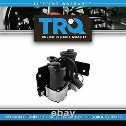 TRQ Adjustable Air Ride Suspension Compressor with Dryer for Ford Lincoln