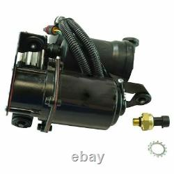 TRQ Front Rear Shock Absorber Air Suspension Compressor with Dryer Kit Kit 5pc