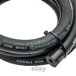Air Conditionné Kit De Tuyau A/c O-ring Rings + Drier + Interrupteur 134a Kit De Tuyau Ac