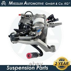 Audi Q7 (4l) 2007-2015 Compresseur De Suspension D'air, Montage Et Relais 4l0698007c