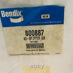 Bendix 800887 Assemblage Du Sécheur D'air Ad-sp, 12v Chauffe-glace / Bw800887
