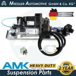 Bmw Série 5 E61 Wagon Suspension Air Springs & Amk Compresseur Kit 37106793778