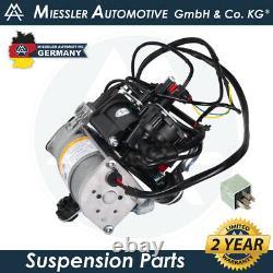 Bmw X5 E53 00-06 Compresseur De Suspension D'air Avec Valve Et Relais -4 Corner 37226787617