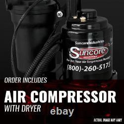 Compresseur De Suspension Air Ride & Sécheuse 2000-2006 Chevrolet Suburban 1500