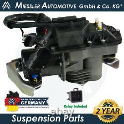 Gmc Envoy XL 2002-2006 Nouveau Compresseur De Suspension Air Ride Et Relais 25805727