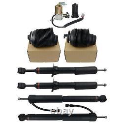 Kit De Suspension Pour Lexus Gx470 03-09 Amortisseurs D'air & Ressorts & Compresseur