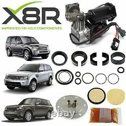 Land Rover Lr3 / Discovery 3 Compresseur D'air Hitachi Et Filter Dryer Reconstruire Kit