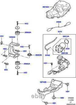 Land Rover Lr4 / Discovery 4 10-12 Air Suspension Compresseur Sèche-linge Pipe