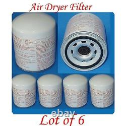 Lot 6 Air Dryer Filter 1907612 Fitsfreightliner Mack Volvo Cummins Mack