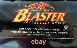Maître De La Force Aérienne, Souffleur Blaster, Sécheur De Voiture Et De Vélo, Modèle B3-cd Testé